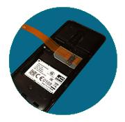 Устанавливаем SIM адаптер в слот для micro - СИМ карты Вашего гаджета