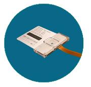 Вставляем не выломанную СИМ карту в Big SIM адаптер
