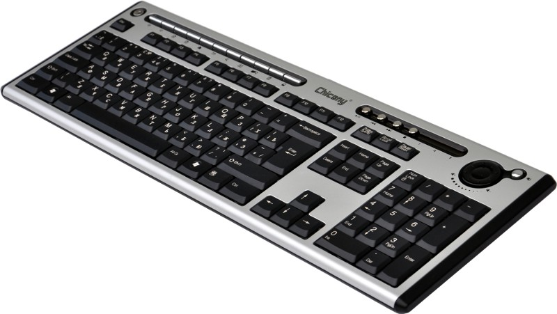 High quality English-Russian ultra-slim multimedia Keyboard, USB