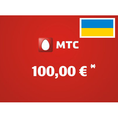 Recharge balance of MTS - Ukraine SIM - Card with 100,00 EUR