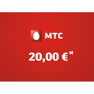 Recharge balance of MTS - Russia SIM - Card with 20,00 EUR