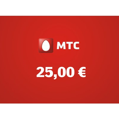 Top up balance of MTS - Russia SIM - Card with 25,00 EUR