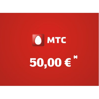 Top up balance of MTS - Russia SIM - Card with 50,00 EUR