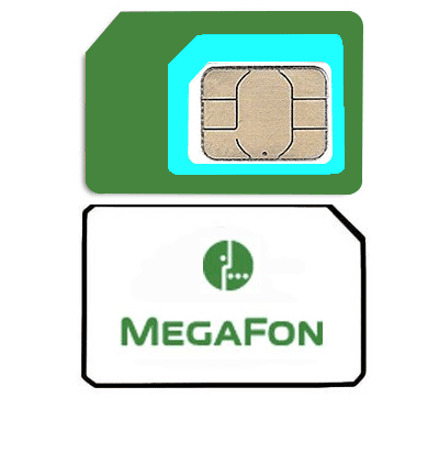 Sim card mobile operator «Megafon» Russia, tariff «Around the World»