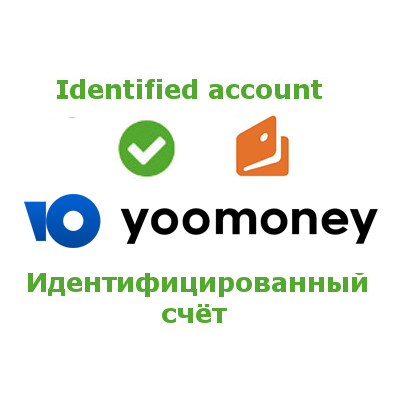 Identification of the user for obtaining the «Identified» purse status in the payment system «YooMoney»